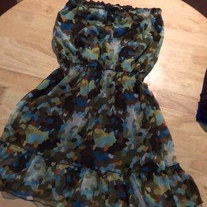 Joy Joy Strapless dress Medium
